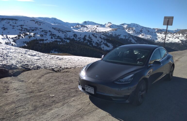 Real Life Model 3 Road Trip:  Who would do this?